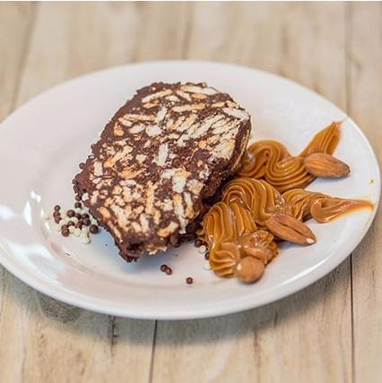 Salchichon de Chocolate postres envio a domicilio delivery